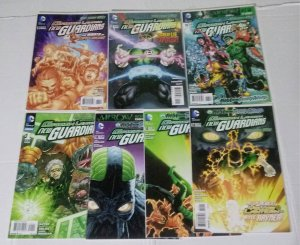Green Lantern New Guardians Comic Book Lot of (7) High Grade Copies  CL70/03