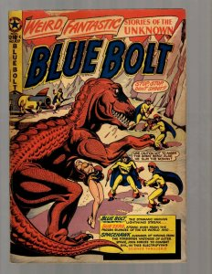 Blue Bolt Adventures # 107 VG/FN 1950 Golden Age Comic Book Star Publication NE5