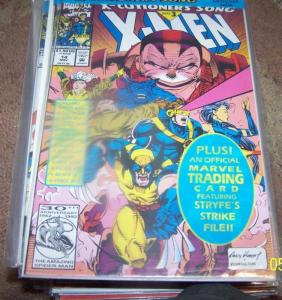 X Men # 14 (Nov 1992, Marvel) Xcutioners song pt 3 apocalypse stryfe cable