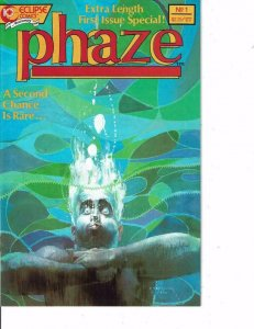 PHAZE #1, VF/NM, Eclipse, 1988, more Indies in store