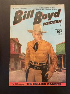 Bill Boyd Western 1 VG/FN  (Fawcett Feb. 1950)