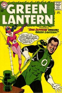 Green Lantern #26 (ungraded) STAR-SAPPHIRE stock photo