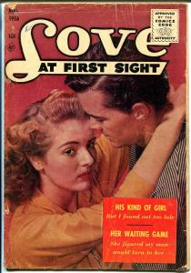 Love At First Sight #42 1956-Ace-Spicy Art-photo cover-penultimate issue-G/VG