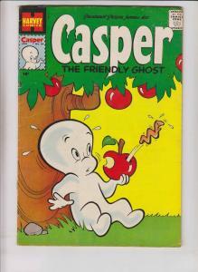 Casper the Friendly Ghost #64 FN- january 1958 - silver age harvey comics  apple