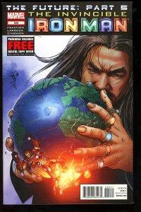 Invincible Iron Man #525 (2012)