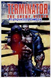 TERMINATOR : ENEMY WITHIN #3, Simon Bisley, Death, NM+
