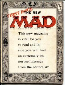 MAD MAGAZINE #24-1st ISSUE NEW FORMAT-KRIGSTEIN-EC-Key Issue!