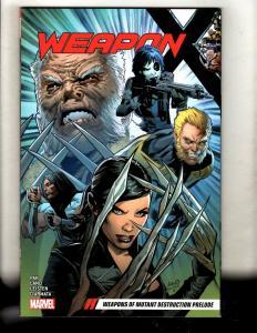 Weapon X Vol. # 1 Weapons Mutant Marvel Comics TPB Graphic Novel Comic Book J348