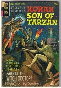 KORAK, SON of TARZAN #38, GD+, Burroughs, Gold Key, 1964