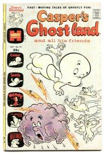 Casper's Ghostland #79 1974- Wendy- Harvey VG/F