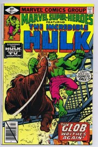 Marvel Super Heroes #81 ORIGINAL Vintage 1979 Incredible Hulk The Glob