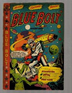 Blue Bolt Adventures # 106 FN- 1950 Golden Age Comic Book Star Publication NE5