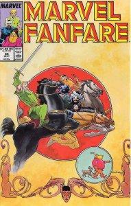 Marvel Fanfare #34 VF/NM; Marvel   save on shipping - details inside