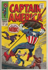 Captain America #105 (Sep-68) NM- High-Grade Captain America