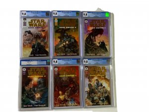 Star Wars Dark Empire II 1 2 3 4 5 6 1-6 All Cgc 9.8 White Pages Gold Edition