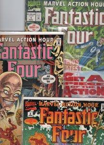 Marvel Action Hour: Fantastic Four #1, 2, 3