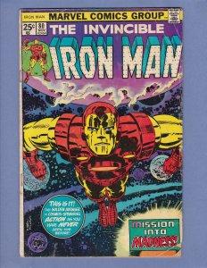 Iron Man #80 GD/VG Marvel 1975