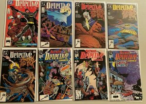 Detective comics lot from:#602-649 35 difference 8.0 VF (1989-92)
