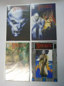 Nosferatu Plague of Terror set #1-4 8.0 VF (1991 Millennium)