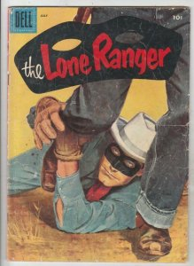 Lone Ranger, The # 97 strict VG+CoverPainted!