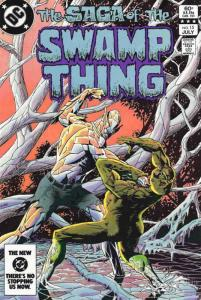 Saga of the Swamp Thing, The #15 VF/NM; DC | save on shipping - details inside