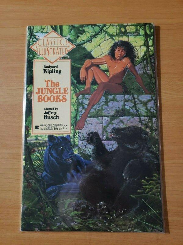 Classics Illustrated #22 Rudyard Kipling The Jungle Books ~ NEAR MINT NM ~ 1991