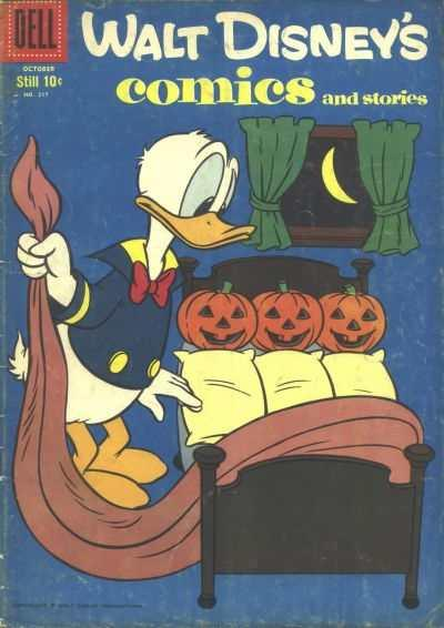 Walt Disney's Comics and Stories #217, VG- (Stock photo)