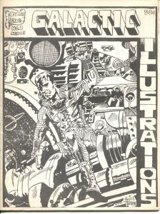 GALACTIC ILLUSTRATIONS #1-1968-KEITH TUCKER-ROB GUSTAVESON-COLLECTORS BOOK ST...