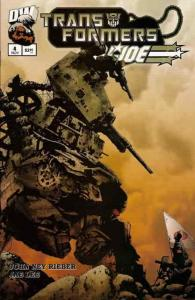 Transformers/G.I. Joe #4 VF/NM; Dreamwave | save on shipping - details inside