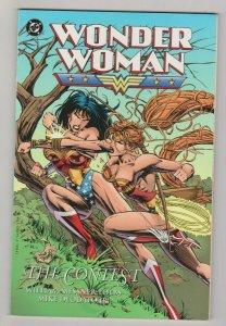 WONDER WOMAN - THE CONTEST 1995 DC COMICS 1ST PRINT MIKE DEODATO JR. ART