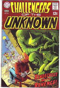 Challengers of the Unknown #66 (Mar-69) VF High-Grade Challengers of the Unkn...