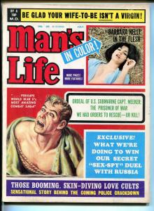 Man's Life 7/1964-Barbara Nelli cheesecake-Lady Killer-pulp-FN