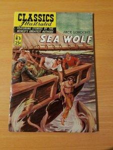 Classics Illustrated #85 - Sea Wolf ~ FINE - VERY FINE VF ~ (Jul 1969) HRN 169