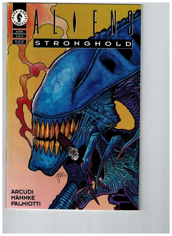 Aliens Stronghold # 3 Of 4 NM Dark Horse Modern Age Comic Book Predator S77