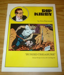 Rip Kirby #15 VF pacific comics club - alex raymond - buried treasure - 1980
