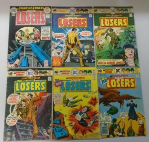 DC War Comic Lot Our Fighting Forces The Losers, 12 Diff. Avg 4.0 VG (1975-1978)