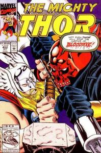 Thor (1966 series) #452, VF+ (Stock photo)