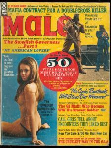 MALE APR 1973-ANIMAL TORTURE-BIKER GANGS-HEADHUNTERS VG