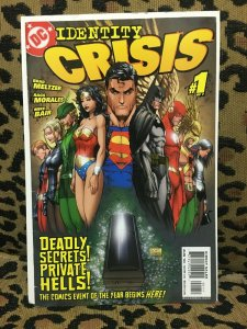 IDENTITY CRISIS - DC - 6 ISSUES #1-5, 7 - 2004-05 - VF