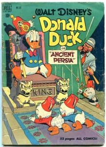 Donald Duck in Ancient Persia- Four Color #275 1950- Carl Barks VG-