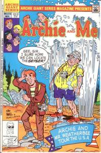 ARCHIE GIANT SERIES (1954-1992)616 VF-NM ARCHIE & ME COMICS BOOK