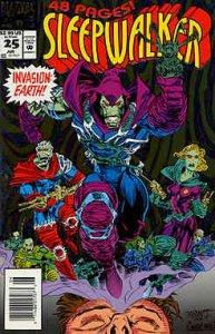 Sleepwalker #25 VF/NM; Marvel   save on shipping - details inside