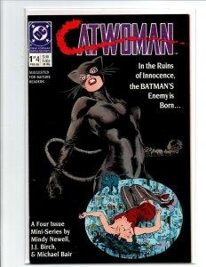 Catwoman #1 2 3 & 4 Complete Mini-Series - 1989 - (-Near Mint)