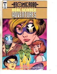 Lot Of 4 Atomic Robo IDW Comic Books # 1 Science Adv + # 1 2 3 Temple Of Od CA2
