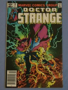 Doctor Strange Issue #55 Marvel Comic Book Autographed by Terry Austin VF/NM SEE