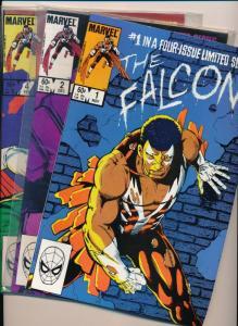 Marvel Comics THE FALCON #1,2,4  ~ VF 1983 (HX836) 3 comics