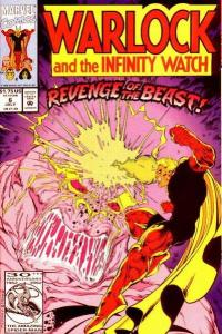 Warlock and the Infinity Watch #6, NM- (Stock photo)