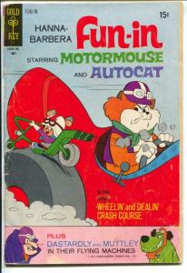 Hanna-Barbera Fun-in #7 1971-Gold Key-Motormouse-Autocat-G