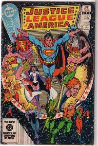 Justice League of America   vol. 1   #217 GD