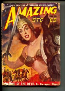 Amazing Stories-Pulp-1/1949-Alexander Blade-Guy Archette